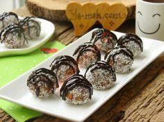 Elmalı Bisküvi Topları Resimli Tarifi - Yemek Tarifleri