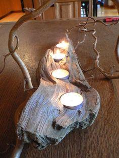 Teelichtholz