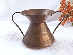 Decorative Copper Pot, Small Copper Pot, Home Decor, Copper Craze, Miniature Copper Jug, Vintage Copper, Retro Copper Jug, Retro Decor by AgedwithGraceVintage on Etsy