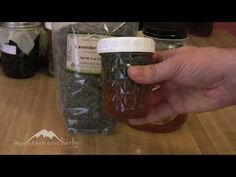 How to Make Herbal Honey with Lavender