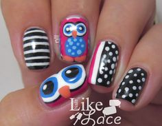 Nails like lace