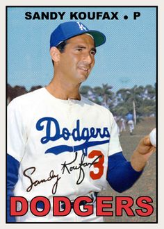 Sandy Koufax (former pitcher of the Los Angeles Dodgers). Dodgers Baseball, Dodgers Nation, Pirates Baseball, Mlb Players, Baseball Players, Old Baseball Cards, Baseball Stuff, Baseball Photos, Sandy Koufax