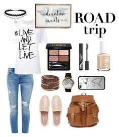 """summer road trip"" by msccar61 on Polyvore featuring Ted Baker, Neil Barrett, Gucci, Casetify, Chan Luu and Piel Leather"