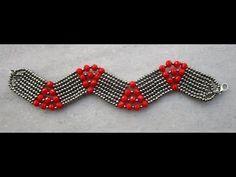 Bileklik Yapımı ( Herringbone Tekniği ) - YouTube