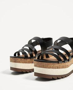 CONTRAST WEDGES   vegan shoes   vegan sandals