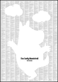 Finn Family Moomintroll  www.happywitch.co.uk