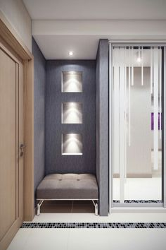 Interior Decorating, Interior Design, Entry Hall, Apartment Interior, Mudroom, Sliding Doors, Interior Inspiration, Sweet Home, Indoor