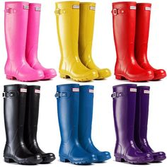 Cute skinny calf rain boots for women womens rain boot~ New ...