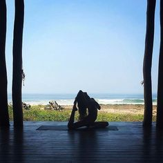Your yoga happy place yoga pavilion at Playa Viva. Check for upcoming yoga retreats. Come host yours. by @greenhealthymamma #yoga #yogaretreat #yogaworkshop #yogaeverydamnday #yogaeverydamnday #yogaeverywhere #ecoluxury #regenerative #sustainable #boutiquehotel