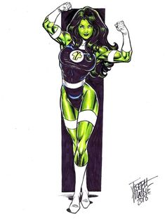 She-Hulk by Joseph Mackie