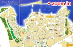 Chania Old Town Map