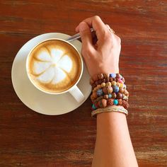 Always loving the latte art! #shopfairtrade #ethicalfashion #ethicallysourced…
