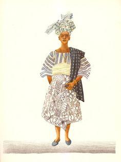 Yoruba girl (published in 1960, I think?)