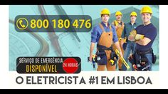 Eletricista Ajuda   24 horas: 800 180 476 Thing 1, Boards, My Favorite Things, 180, Website, Watch, Youtube, Professional Electrician, Lisbon