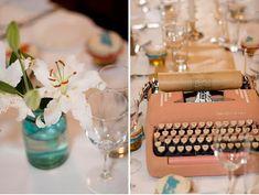 Wedding Details: Typewriter Guestbook