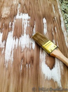 Deco, Wood, Crafts, House, Chalk Painted Furniture, Furniture Restoration, Distressed Wood Furniture, Coconut Oil, How To Paint