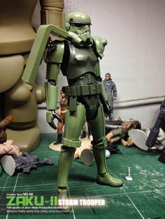 Bandai Storm Trooper [Ver. Zaku II] - Custom Build Modeled by 3plamodel work