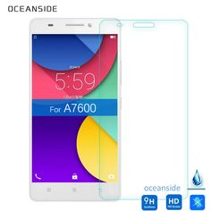 For Lenovo A7600 Tempered glass Screen Protector 9h 2.5 Safety Protective Film on A7000 A 7600 A 7000 Plus 5.5 inch