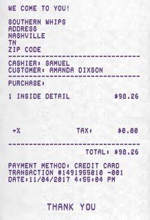 Free Online Receipt Maker - Sales Receipt - Custom Receipt - Fake ...