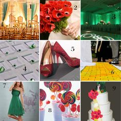 Wizard of Oz wedding? I feel like if this is done right, it would be AWESOME, but it  could get really tacky too. Hmmm...