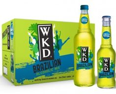 "WKD are introducing a new green-coloured flavour, called WKD Brazilian, is described simply as ""exotic"", taking its inspiration from the South American country and its party atmosphere. Brazil Party, Wkd, South American Countries, Get The Party Started, New Green, Of Brand, House Party, Alcoholic Drinks, Beverages"