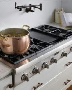 This is the type of stove I want with the flat top in the middle