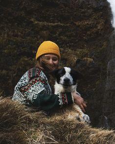 About frienship #doglove #dogs #naturelovers #travelphotography #travelstyle #iceland #wanderslust #wanderer #style #adventure Travel Style, Dog Love, Iceland, Waterfall, Travel Photography, Winter Hats, Journey, Positivity, Sun