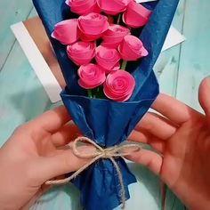 Best Indoor Garden Ideas for 2020 - Modern Kids Crafts, Mothers Day Crafts For Kids, Diy Crafts Hacks, Diy Crafts For Gifts, Diy Arts And Crafts, Diy Projects, Cool Paper Crafts, Paper Flowers Craft, Paper Crafts Origami