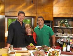 Satellite media tour with Jamie and Bobby Deen