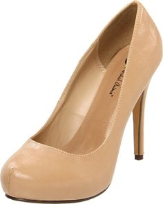 I already have two pairs of nude heels, but not yet in patent...     Michael Antonio Women's Loveme Closed-Toe Pump - designer shoes, handbags, jewelry, watches, and fashion accessories | endless.com