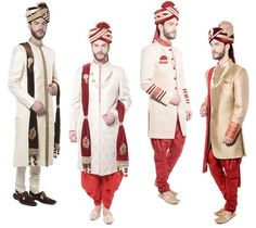 Nice collection of #Wedding #Designer #Sherwanis for men that blend with style and contemporary fashion to make the #groom look elegant and trendy.