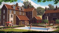 ArtStation - Country House | Participant of CGTrader Awards, Stuart Wilson