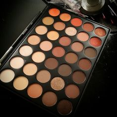 In love with this 350 palette from Morphe Brushes!