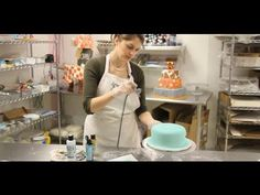 Watch more How to Decorate a Cake videos: http://www.howcast.com/guides/168-How-to-Decorate-a-Cake    Subscribe to Howcast's YouTube Channel - http://howc.st/uLaHRS    Learn how to airbrush a cake and make your cake decorating look like that of a professional cake decorator. Expert: Amanda Oakleaf     Howcast uploads the highest quality how-to videos ...
