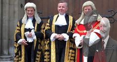 New Lord Chancellor Michael Gove quotes Lord Denning as he is sworn in at the RCJ