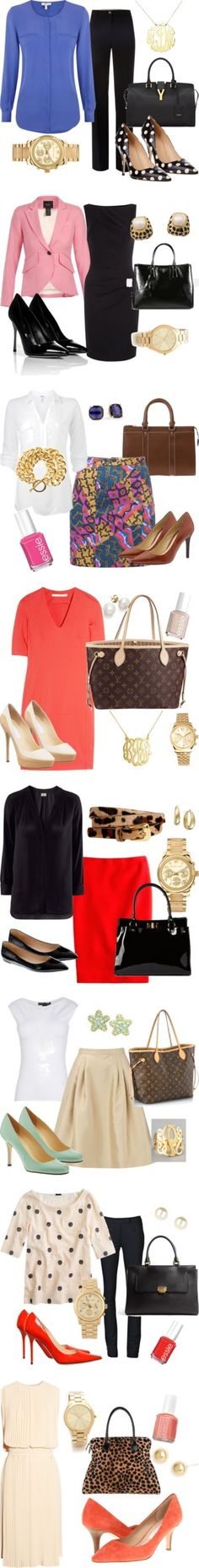 """Work Clothes 2013"" by kekilian on Polyvore"