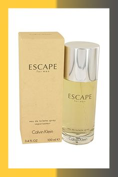 Escapé Cologne for Men 3.4 oz Eau de Toilette Spray +Free JC.Vial Cologne, Calvin Klein, Coffee, Eau De Toilette, Kaffee, Coffee Art