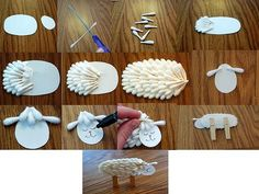 77 Best Q Tip And Cotton Balls Arts And Crafts Images Day Care