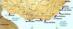 playas de uruguay Piriapolis, Costa