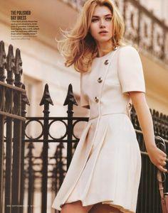 Really elegant cream dress