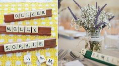 Marque Place Scrabble, Marque Place Origami, Wedding Place Cards, On Your Wedding Day, Big Day, Wedding Details, Wedding Planner, Wedding Inspiration, Wedding Ideas