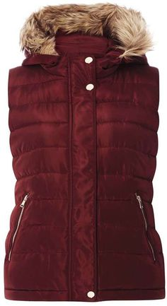 new product a7ccd fea0d I absolutely love this Mulberry Faux Fur Hooded Padded Gilet. Now i just  need a pair of Hunter boots  -)  fallfashion  fallfashion2017