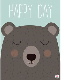 Affiche Happy day