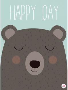 Affiche Happy day