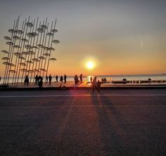 You haven't fallen in love until you visit Thessaloniki! #thessalonikitravel #skg #travel #travelgram #visit_thessaloniki #visitgreece #visitthessaloniki #manystoriesoneheart #thessaloniki #sunset #cityoflove