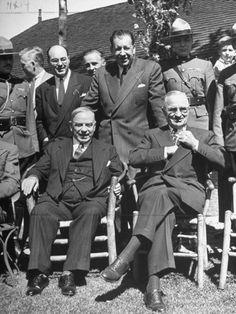 Harry S. Truman Visiting Mekenzie King