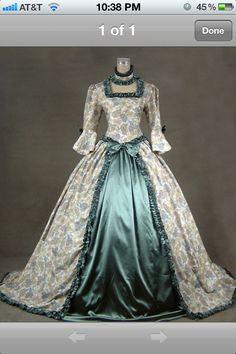 Victorian dress.. Love it!