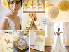 The Perfect Palette: Meant to Bee | Shades of Yellow, Latte + Ivory