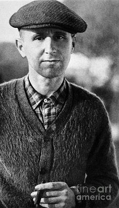 Bertolt Brecht (1898-1956) Photograph  - Bertolt Brecht (1898-1956) Fine Art Print