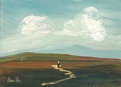 Adam Kos- Returning Home West Of Ireland Irish Painters, Street Gallery, Kos, Paths, Ireland, Cottage, Landscape, Painting, Scenery